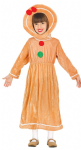 GINGERBREAD LADY GIRL  CHILDS COSTUME